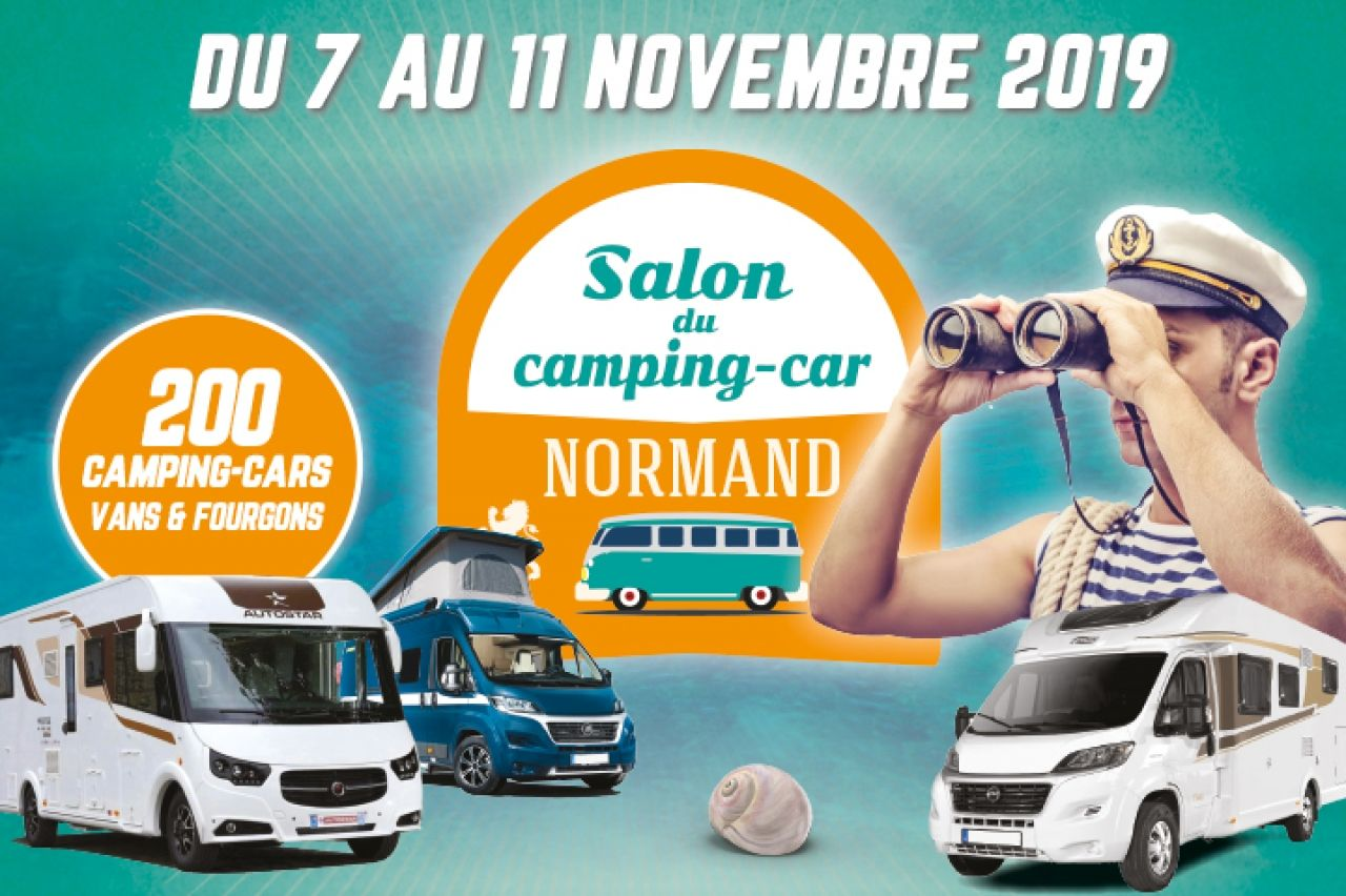 Caen : SALON DU CAMPING CAR NORMAND